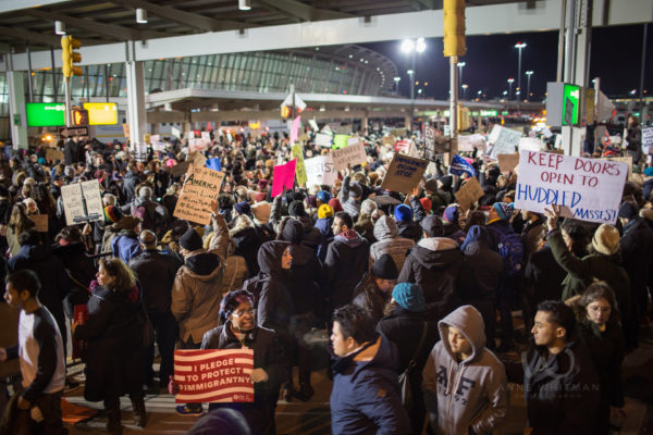 JFK Immigrant Muslim Ban Protest